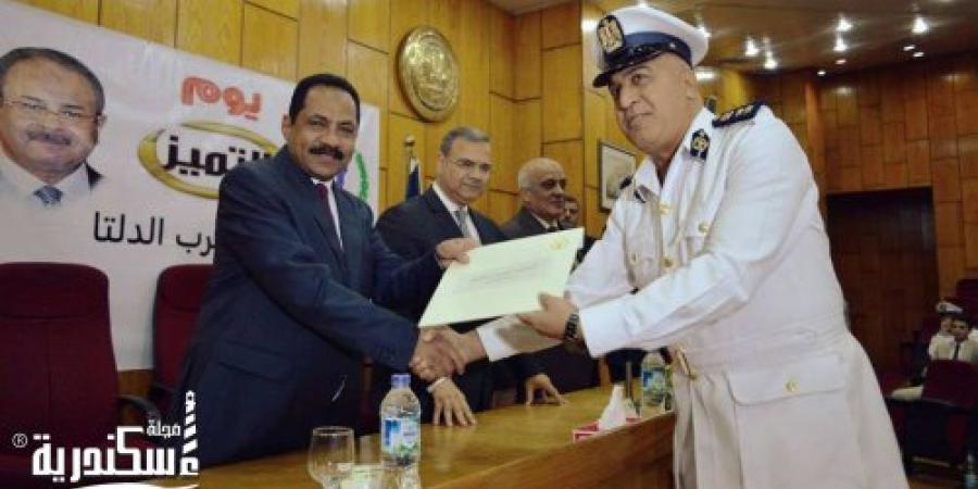 تكريم ضباط مديرية أمن الإسكندرية المتميزين