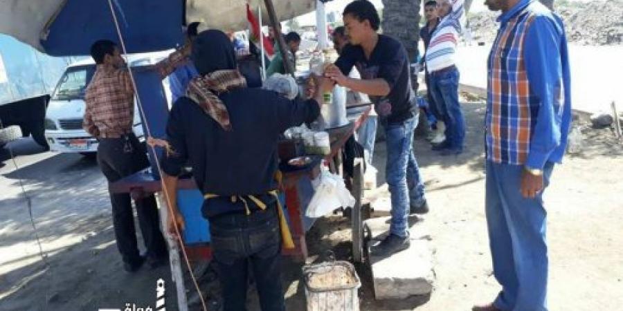 حملة لإزالة الإشغالات على الطريق الدائري بالإسكندرية