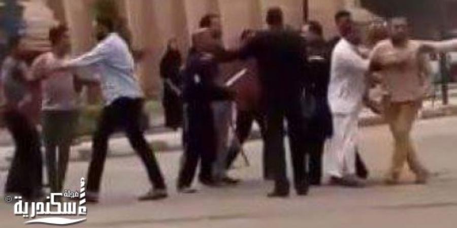 إصابة 6 أشخاص فى مشاجرة بالأسلحة النارية بمنطقة عزبة الرحمة بالإسكندرية