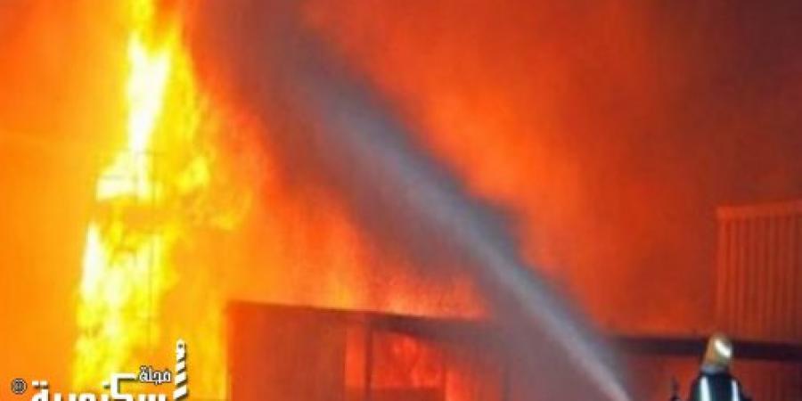مصرع أحد موظفى إدارة الرى بمحافظة الغربية فى حريق بشقة بالإسكندرية