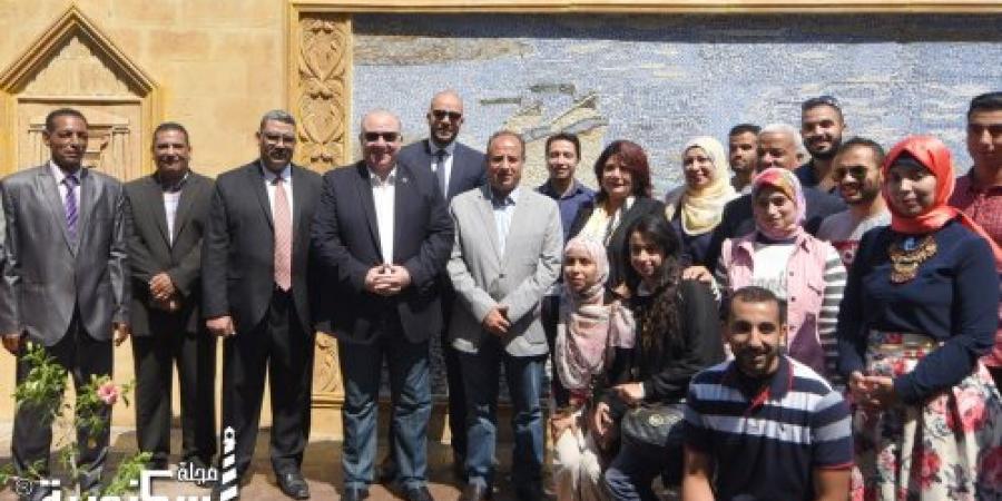 """محافظ الإسكندرية يفتتح جدارية """" إسكندرية الجميلة """" بكورنيش المنتزة ثان"""