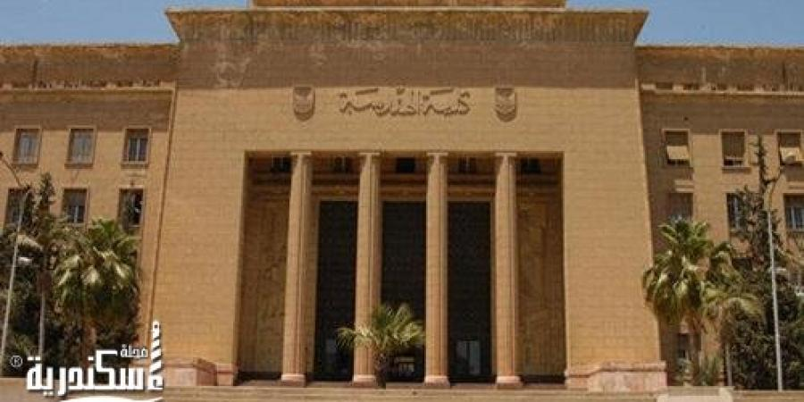 """""""الحماية المدنية"""" تسيطر على حريق نشب بكلية الهندسة جامعة الإسكندرية"""