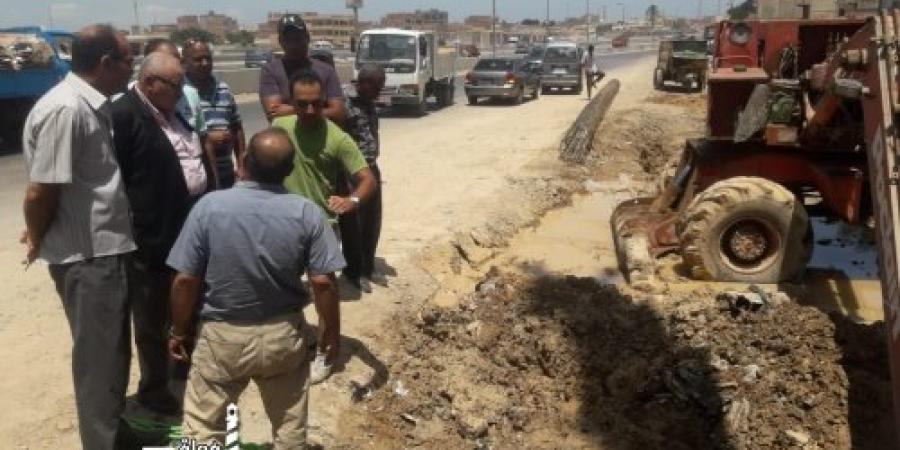 بدء إنشاء ٤ كباري مشاة بالطريق الصحراوي في الإسكندرية