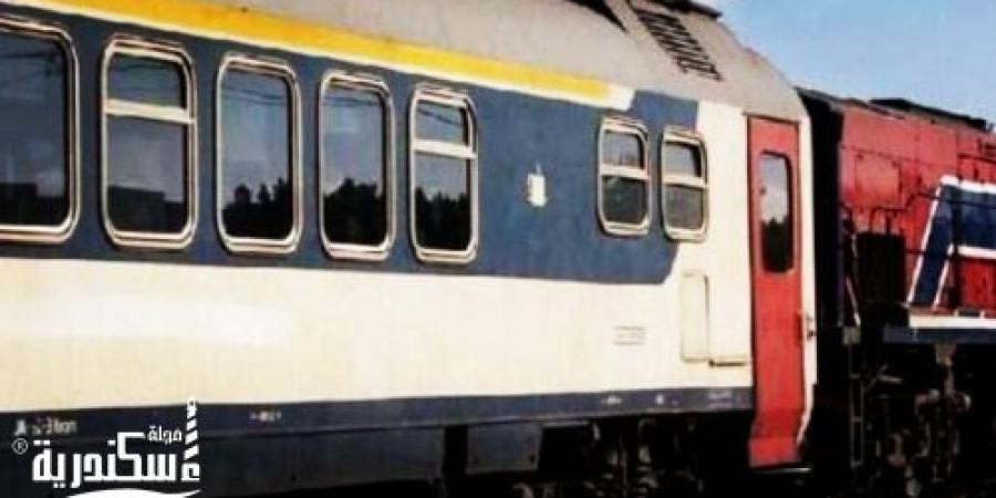 وفاة شخص إثر إصطدام قطار به بالقرب من مزلقان الكلية البحرية منطقة طوسون بالإسكندرية