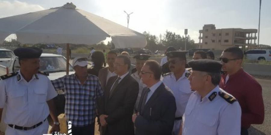 مدير أمن الإسكندرية يتفقد تأمين مباراة الأهلي وتاونشيب في إستاد برج العرب