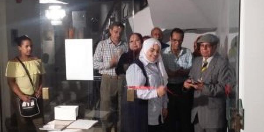 افتتاح معرض (رؤيه)بمركز محمود سعيد
