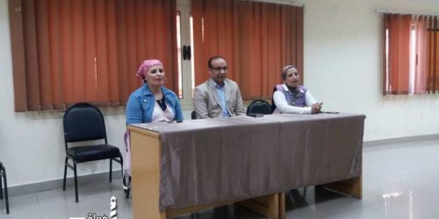 الإعلام الحديث  فى مدرسة الصحافة فى قصر ثقافة الانفوشى