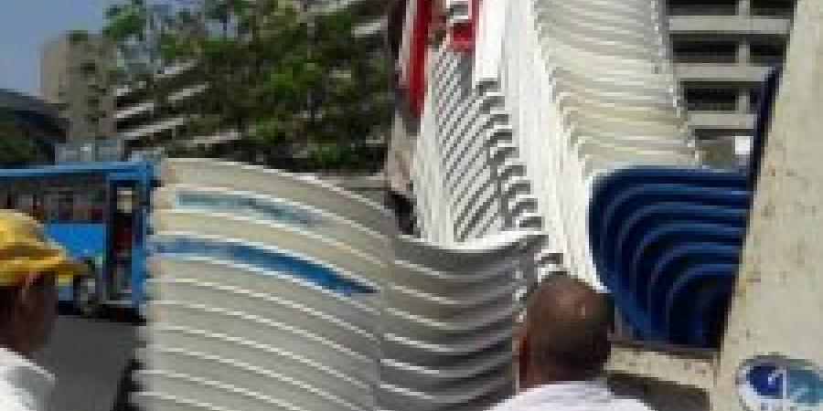 حملات موسعة لأزاله الأشغالات بحى شرق الاسكندرية