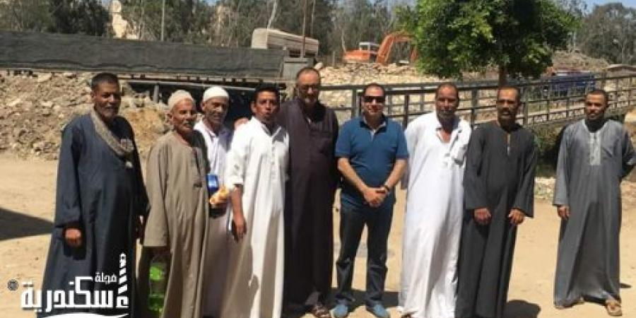 النائب حسني حافظ يتابع الأعمال الإصلاحية بكوبري عزبة عبد المنعم رياض بالإسكندرية