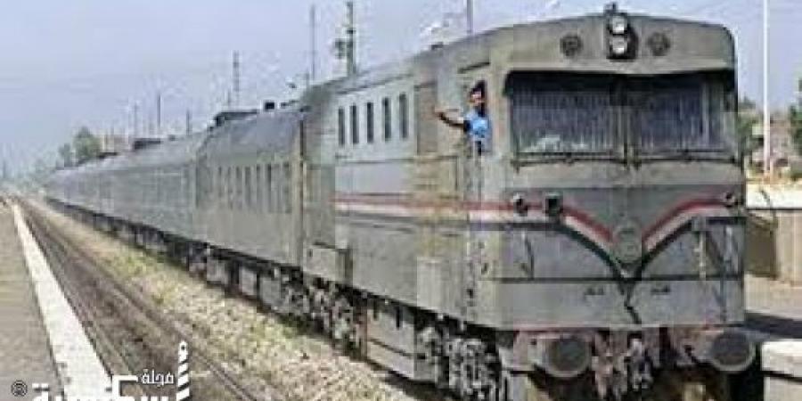 """""""السكك الحديدية"""" تنفى انفصال عربات بقطار أبو قير"""