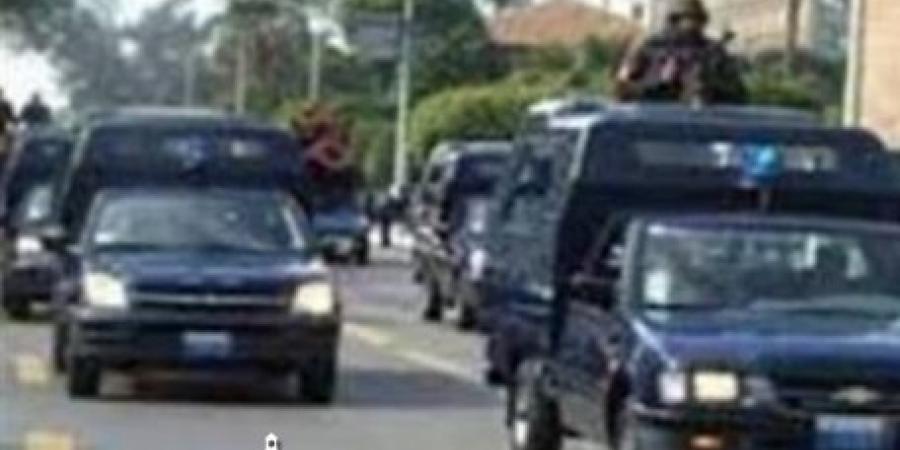 حملة أمنية بمنطقة المعمورة في الإسكندرية في ضوء تفعيل التواجد الشرطي الميداني