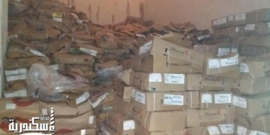 ضبط كميات كبيرة من الكبدة الفاسدة مطروحة للبيع بالأسواق في الإسكندرية