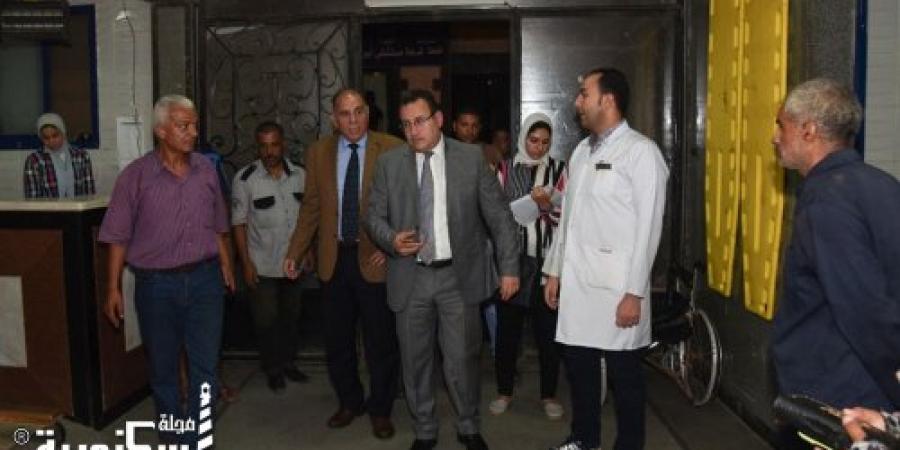جولة مفاجئة لمحافظ الاسكندرية لمستشفى ابو قير العام للإطمئنان على تقديم أفضل خدمة طبية للمرضى
