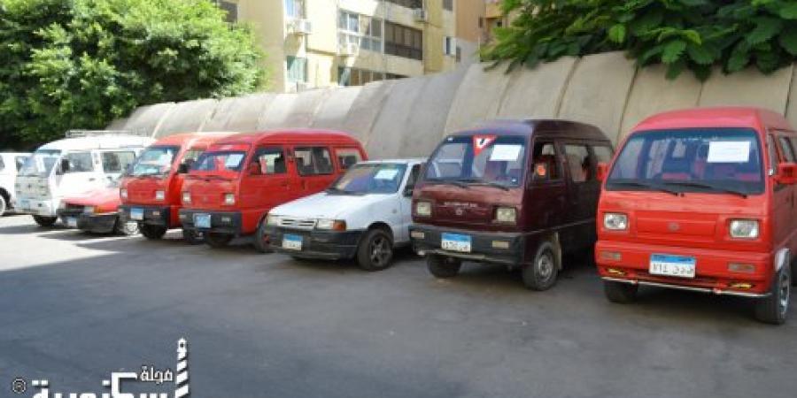أمن الإسكندرية يضبط مجموعة سيارات مسروقة ويقوم بتسليمها لأصحابها بعد ضبط مرتكبي السرقة