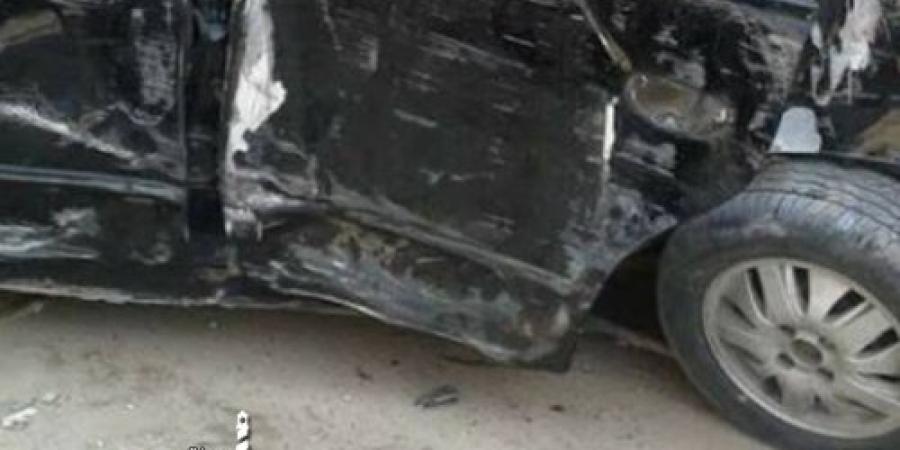 وقوع حادث تصادم ومصاب بالطريق الصحراوي  منطقة الكيلو 22 – تجاه القاهرة
