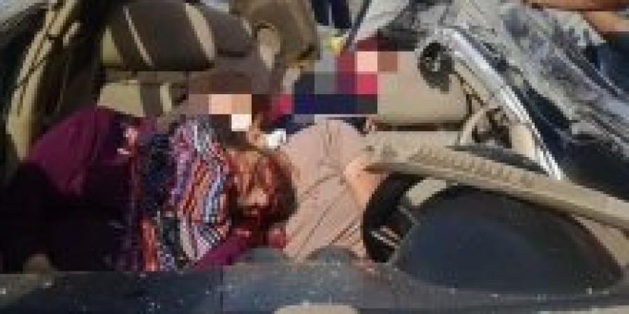 وقوع حادث تصادم بين سيارتين علي كوبري سيدي جابر بالإسكندرية
