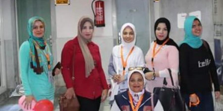 زيارة لجمعية أصدقاء مرضى السرطان لمركز رشيد لعلاج الأورام
