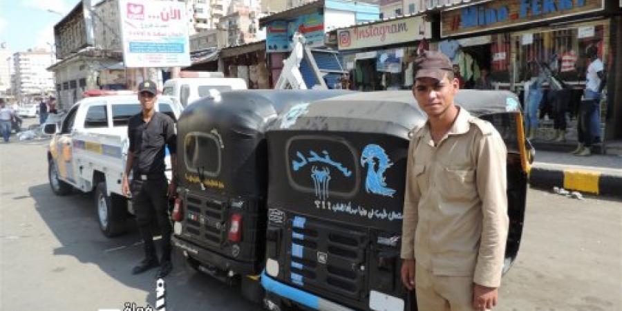 حملة أمنية مكبرة بدائرة قسم أول المنتزه بالإسكندرية