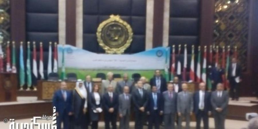 اجتماع  وزراء النقل العرب بالإسكندرية