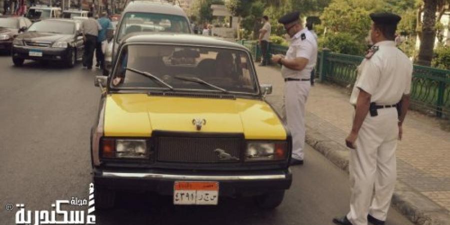 حملة أمنية مكبرة بدائرة المنشية في الإسكندرية