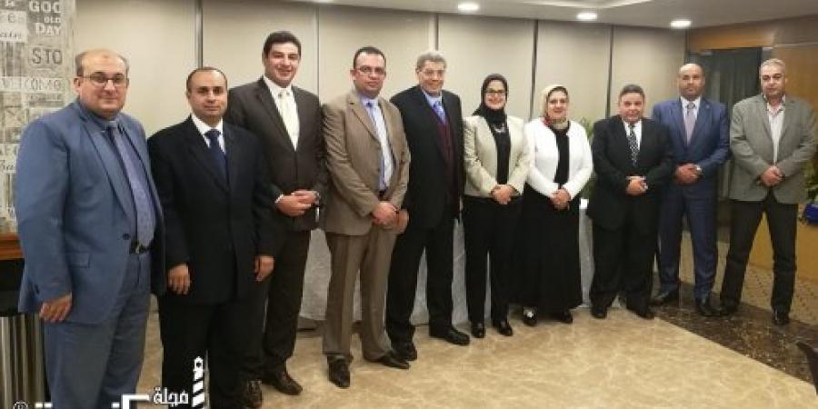 معهد النقل الدولي يستضيف رئيس نادى القضاة الإسكندرية لمناقشة أوجه التعاون وتطوير المعرفة والمهارات للسادة المستشارين