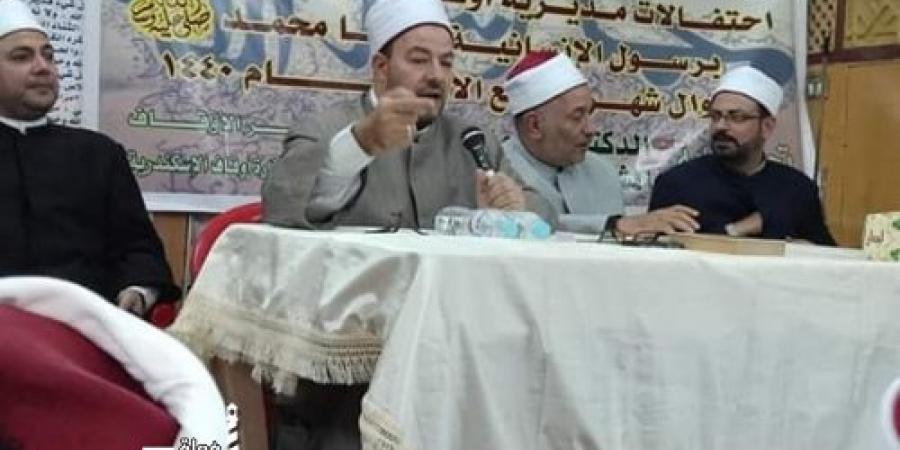 تتواصل الأمسيات بأوقاف الإسكندرية  إحتفالاً برسول الإنسانية