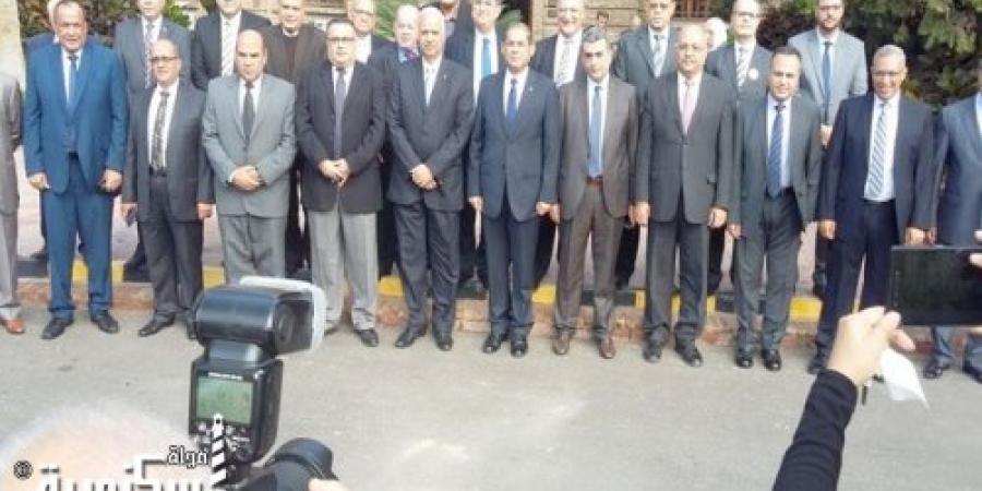 رئيس جامعة الإسكندرية يفتتح ملتقى التوظيف التاسع بكلية العلوم