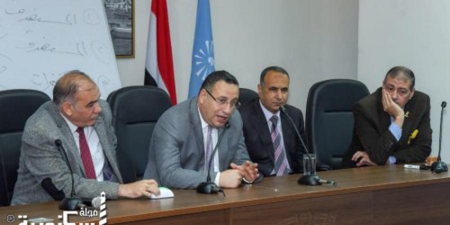 قنصوة : تطبيق برنامج إعداد قيادات المحافظة غير مسبوق ويتم بالتعاون مع جامعة الإسكندرية