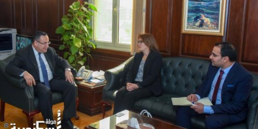 محافظ الإسكندرية يستقبل سفيرة كوبا لبحث مجالات التعاون بين الجانبين