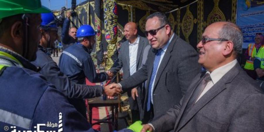 محافظ الإسكندرية يشهد الفعاليات النهائية لبطولة الجمهورية لشركات مياه الشرب والصرف الصحي