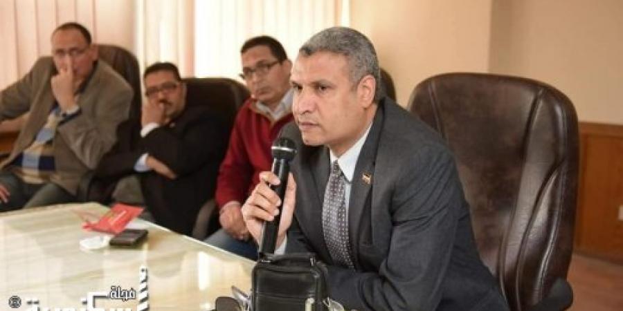 القضاء على الإدمان بشركة الإسكندرية لتوزيع الكهرباء