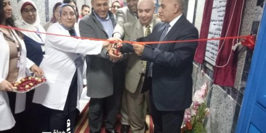 صحة الاسكندرية ... افتتاح قسم غسيل كلوى و عناية مركزة اطفال بمستشفى الجمهورية