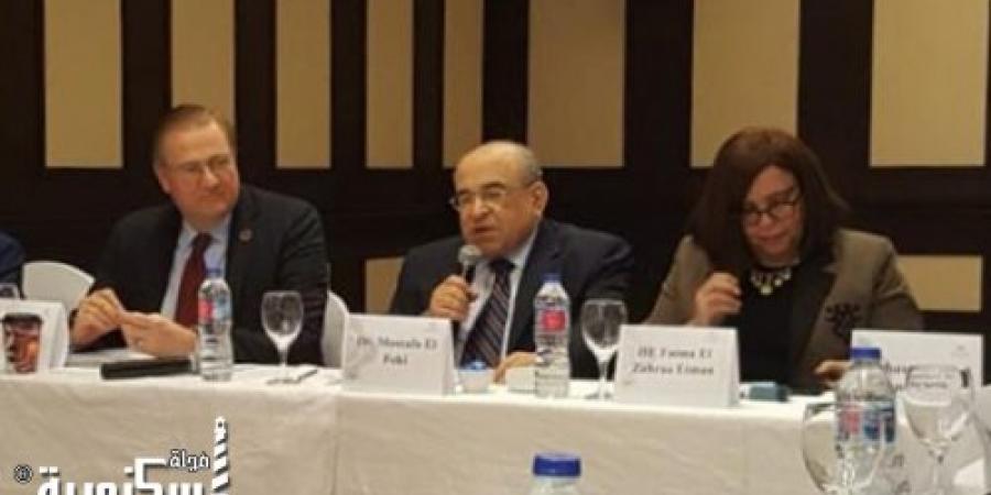 """""""الفقي"""" يفتتح آخر جلسات الإسكندرية الحوارية مصر 2050 بالتعاون مع الأمم المتحدة"""