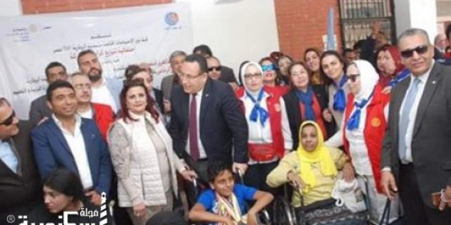 روتارى مصر يهدى 200 كرسي متحرك لذوي الهمم.