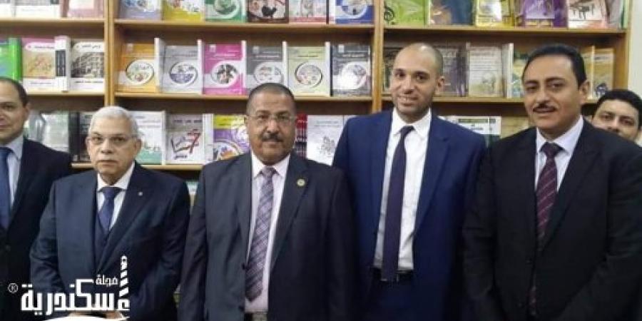 إفتتاح الصرح الثقافي بالإسكندرية حورس بوك