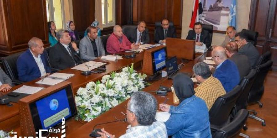 محافظ الإسكندرية : سيتم عمل جولات ميدانية لتفقد كل حي على أرض الواقع و لمتابعة تنفيذ الأعمال و لن نسمح بأي تقصير