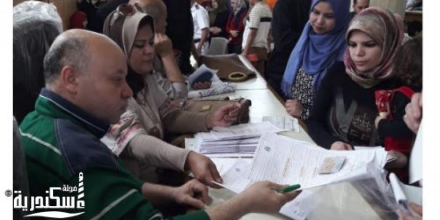 """""""القومي للمرأة بالاسكندرية """" استخراج عدد 96 بطاقة للسيدات المعيلة"""