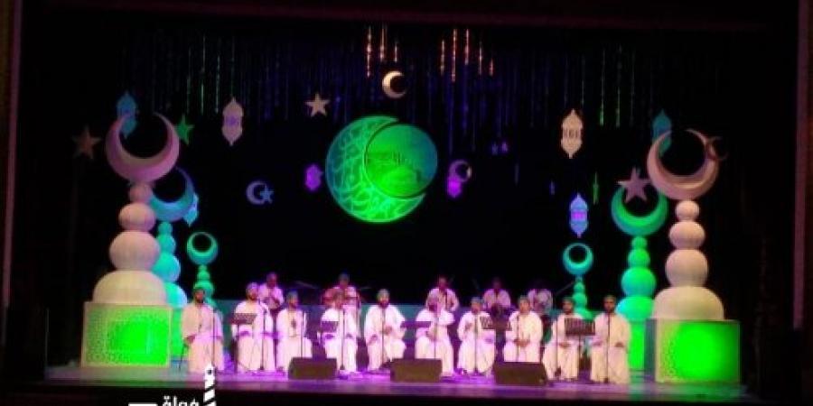 ( حفل الحضرة للإنشاد الصوفي ) في دار الابرا بالإسكندرية