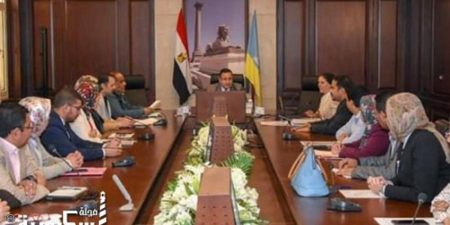 قنصوة : يناقش مخرجات تطوير الجهاز الإداري والعمليات الإدارية لمحافظة الإسكندرية في ضوء تحقيق رؤية مصر ٢٠٣٠