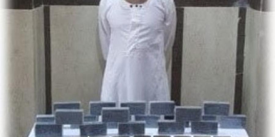 القبض على تاجر مخدرات بحيازته 20 طربة حشيش شرق الإسكندرية