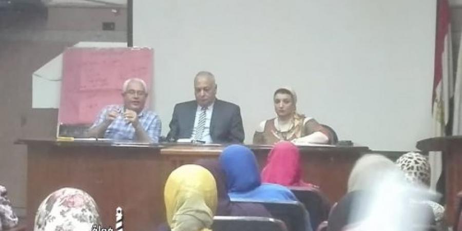اجتماع وكيل الصحة بالإسكندرية مع مديرى المستشفيات