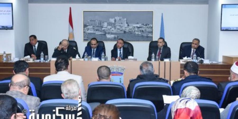 الشريف يطلق أسماء شهداء الوطن على مدارس و شوارع الإسكندرية.