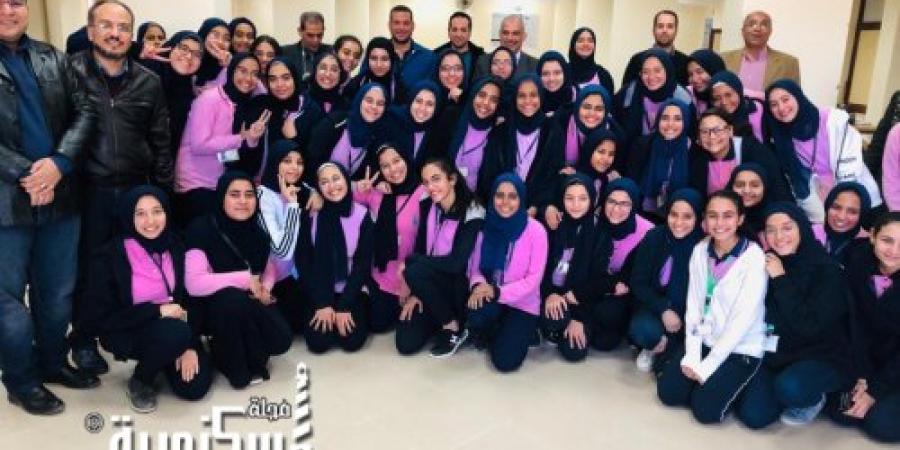 """انتهاء تقييم مشاريع مبادرة """"""""stem للمتفوقين فى العلوم والتكنولوجيا بالإسكندرية"""