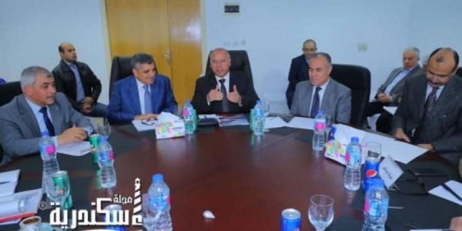 وزير النقل يتابع أعمال تنفيذ وإنشاء المحطة متعددة الأغراض بميناء الاسكندرية