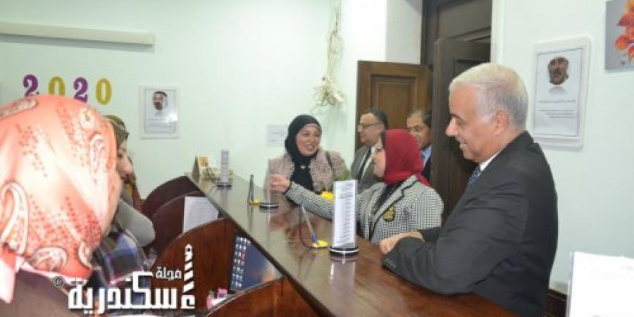 إفتتاح مقر إدارة الطلاب الوافدين بجامعة الإسكندرية