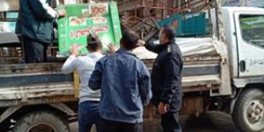 حي شرق يشن حملة مكبرة لإزالة الإشغالات المخالفة
