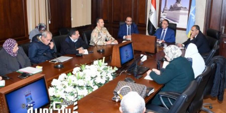 محافظ الإسكندرية يشدد على مواجهة البناء المخالف وعدم السماح بأية مخالفات جديدة .