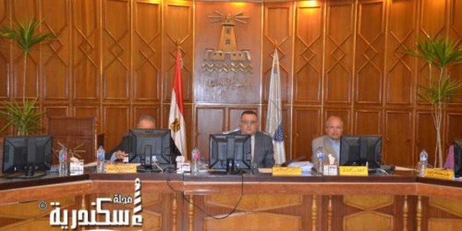 هشام جابر : نسعى للإرتقاء بتصنيف جامعة الإسكندرية في كافة التصنيفات العالمية للجامعات