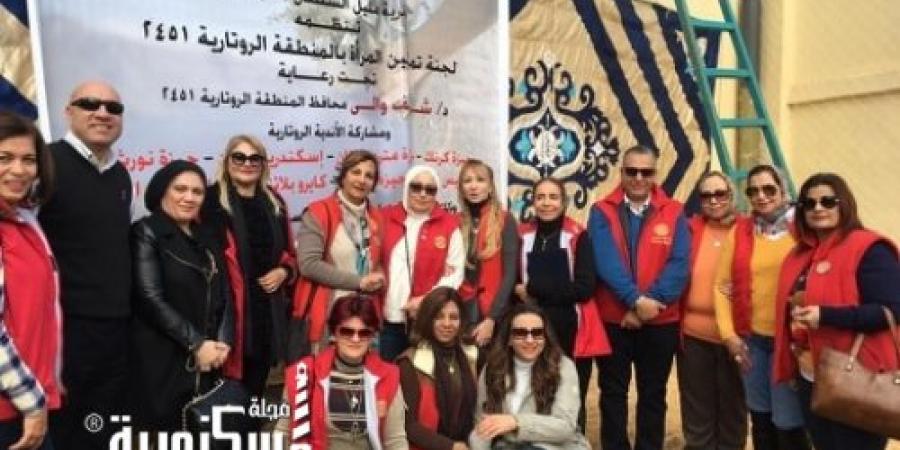 أميمية الشيخ : لجنة تمكين المرأة بالمنطقة الروتارية  جهزت 170 بيت زوجية على مستوى ربوع مصر