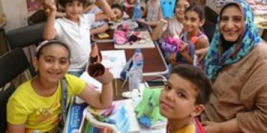 """74 مشارك بمعرض """"ملتقي فنون الاطفال """" 2020 عام روسيا مصر الإنساني"""